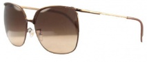 Givenchy SGV417 Sunglasses Sunglasses - R72 Shiny Brown / Gradient Brown Lens