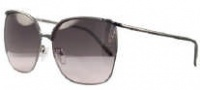 Givenchy SGV417 Sunglasses Sunglasses - K59 Shiny Gunmetal / Gradient Smoke Lens
