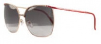 Givenchy SGV417 Sunglasses Sunglasses - H60 Shiny Red / Gradient Smoke Lens