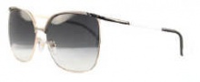 Givenchy SGV417 Sunglasses Sunglasses - 301 Shiny Gold / Gradient Smoke Lens