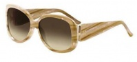 Givenchy SGV690 Sunglasses Sunglasses - 6UC Beige / Gradient Brown Lens