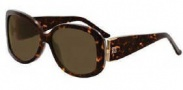 Givenchy SGV690 Sunglasses Sunglasses - 722 Melange Brown / Brown Lens
