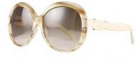 Givenchy SGV695 Sunglasses Sunglasses - 6UC Cream Melange / Brown Gradient Lens