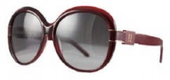 Givenchy SGV695 Sunglasses Sunglasses - 954 Burgundy / Gradient Smoke Lens