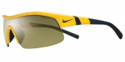Nike Show X1 E EV0618 Sunglasses Sunglasses - 703 Varsity Maize / Outdoor / Grey Lens