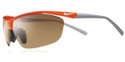 Nike Impel EV0474 Sunglasses Sunglasses - EV0474-802 Mandarin Orange / Brown Lens