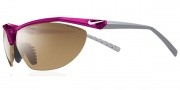 Nike Impel Swift EV0475 Sunglasses Sunglasses - EV0475-602 Voltage Cherry / Brown Lens