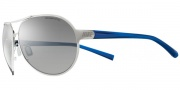 Nike Alaris EV0622 Sunglasses Sunglasses - EV0622-047 Chrome / Team Royal / Grey Silver Flash Lens