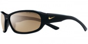 Nike Defiant EV0531 Sunglasses Sunglasses - EV0532-001 Gloss Black / Brown Max Polarized Lens
