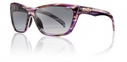 Smith Aura Sunglasses Sunglasses - Violet Savanna / Gray Gradient