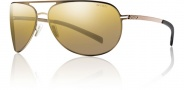 Smith Showdown Sugnlasses Sunglasses - Matte Gold / Polarized Gold Gradient