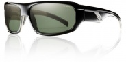 Smith Tactic Sunglasses Sunglasses - Black / Polarized Gray Green