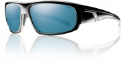 Smith Terrace Sunglasses Sunglasses - Black Blue Polarized Blue Mirror