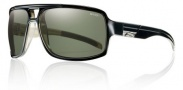 Smith Swindler Sunglasses Sunglasses - Black / Polarized Gray Green