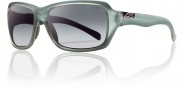 Smith Brooklyn Sunglasses Sunglasses - Matte Sky / Polarized Gray Gradient
