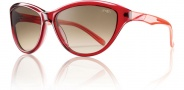 Smith Cypress Sunglasses Sunglasses - Red Coral / Brown Gradient