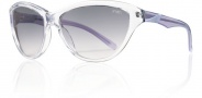 Smith Cypress Sunglasses Sunglasses - Crystal Lilac / Gray Gradient