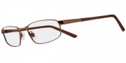 Nike 6042 Eyeglasses Eyeglasses - 205 Shiny Dark Brown