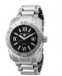 Swiss Legend Commander 3H Bracelet Watch 10059 Watches - 11 Black Face / Silver Bracelet