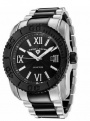 Swiss Legend SB Commander 3H Bracelet Watch 10059  Watches - SB-11 Black Face / Silver & Black Bracelet