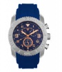 Swiss Legend Commander Rubber Watch 20065 Watches - 33-RNB Blue Face / Rose Dial / Blue Band