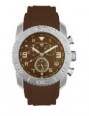 Swiss Legend Commander Rubber Watch 20065 Watches - 44 Brown Face / Brown Band
