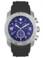 Swiss Legend Commander Rubber Watch 20065 Watches - 33 Blue Face / Gray Band