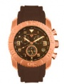 Swiss Legend Commander Rubber IP Watch 20065 Watches - E Brown Face / Brown Band