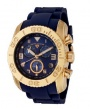 Swiss Legend Commander IP Rubber Watch 20065 Watches - YG-03 Blue / Yellow Gold