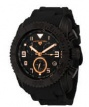 Swiss Legend Commander Rubber Black IP Watch 20065 Watches - BB-01-RA Black Band / Rose Dial