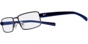 Nike 8070 Eyeglasses Eyeglasses - 401 Shiny Blue