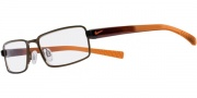 Nike 8070 Eyeglasses Eyeglasses - 226 Matte Dark Brown