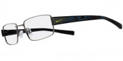 Nike 8075 Eyeglasses  Eyeglasses - 079 Brushed Gunmetal / Black