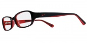 Nike 5500 Eyeglasses Eyeglasses - 018 Black / Red