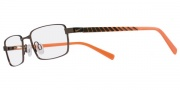 Nike 5561 Eyeglasses  Eyeglasses - 225 Gun Brown / Black / Orange