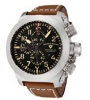 Swiss Legend Militare No. 1 Watch 1101 Watches - 1101-01 Black Face / Brown Band