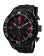Swiss Legend Neptune Diver Black IP Watch 11812P Watches - 11812P-BB-01-OA Orange Dial