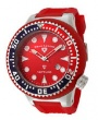 Swiss Legend Neptune Diver Steel 21818 Watches - 21818D-05-RBL Red Face / Red Band
