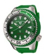 Swiss Legend Neptune Diver Steel 21818 Watches - 21818D-08-GS Green Face / Green Band
