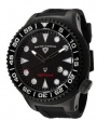 Swiss Legend Neptune Diver Black IP 21818 Watches - 21818D-BB-01-NB Black Face / Black Band