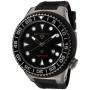 Swiss Legend Neptune Diver Gunmetal IP Watch 21818 Watches - 21818D-GM-01-NB Black Face / Black Band