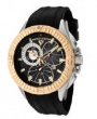 Swiss Legend Evolution IP Bezels Watch 10064 Watches - 10064-01-GB Black Face / Gold Crown