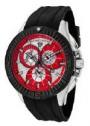 Swiss Legend Evolution IP Bezels Watch 10064 Watches - 10064-05-BB Red Dial / Black Crown