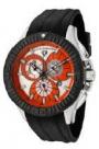 Swiss Legend Evolution IP Bezels Watch 10064 Watches - 10064-06-BB Orange Dial / Black Crown