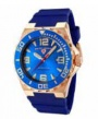 Swiss Legend Expedition Watch 10008-BB Watches - RG-03-BLB Blue Face / Rose Crown / Blue Band
