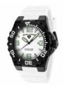 Swiss Legend Expedition Watch 10008-BB Watches - BB-02WHT White Face / Black Bezel / White Band