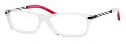 Tommy Hilfiger 1100 Eyeglasses Eyeglasses - 0XGG Crystal Matte Black