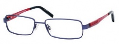 Tommy Hilfiger 1097 Eyeglasses Eyeglasses - 0WIR Matte Blue Red