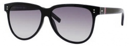 Tommy Hilfiger 1083/S Sunglasses Sunglasses - 0D28 Shiny Black / EU Gray Gradient Lens