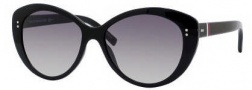 Tommy Hilfiger 1084/S Sunglasses Sunglasses - 0D28 Shiny Black / EU Gray Gradient Lens